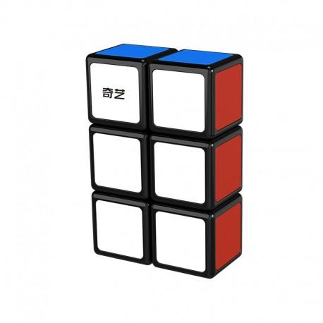 Магически пъзел QiYi MoFangGe 1x2x3 Floppy - Черен