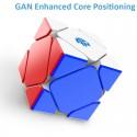 Магически пъзел за скоростно нареждане Gancube Skewb Magnetic Enhanced - Stickerless