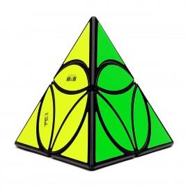 Магически пъзел QiYi MoFangGe Coin Pyraminx - Черен