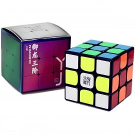 Куб за скоростно нареждане YongJun YuLong V2 3x3x3 56мм Magnetic - Черен