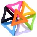 Цветна триъгълна стойка за кубчета