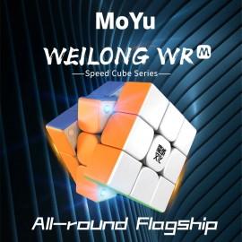 Куб за скоростно нареждане MoYu WeiLong WR M 2021 Lite 3x3x3 55мм Magnetic - Stickerless