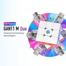 Куб за скоростно нареждане Gancube GAN 11 M Duo 3x3x3 56мм Magnetic - Stickerless
