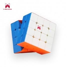Куб за скоростно нареждане QiYi X-Man Design Ambition M 4x4x4 60мм Magnetic - Stickerless
