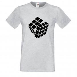 """Мъжка тениска с щампа """"One Color Twist"""""""